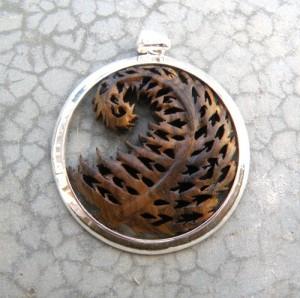Médaille Fougère