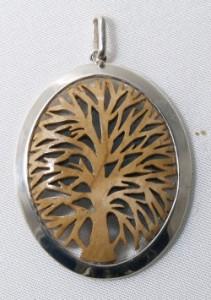 Médaille Auranne Ovale