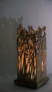Lampe Bambous